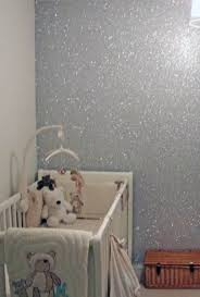 silver glitter wall paint modern interior design inspiration