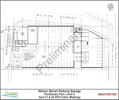 wilson street reconstruction and parkade city of guelph