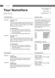 Stylish Resume Templates Word Classic Resume Template Find This Pin And More On Classic Resume