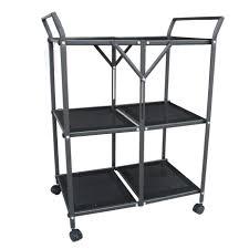 style stupendous folding kitchen cart qvc folding kitchen island