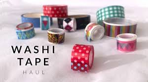 What Is Washi Tape Stationery Haul Washi Tape Bullet Journal Youtube