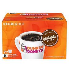 Blend K Cups Dunkin Donuts Original Blend 72 K Cups Sam S Club