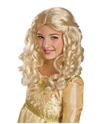 halloween costumes wigs maleficent aurora kids wig girls costume