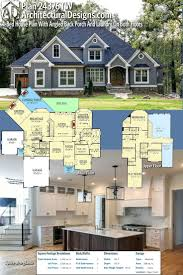 craftsman house plans with porches uncategorized house plan with porch striking for beautiful
