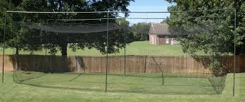 procage 35 u0027 free standing batting cage frame