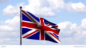 Great Britain Flag Animated Flag Of Great Britain Großbritannien Stock Animation