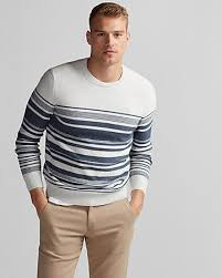 marled crew neck sweater express
