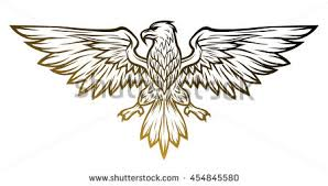royalty free tribal eagle tattoo vector u2026 93334702 stock photo