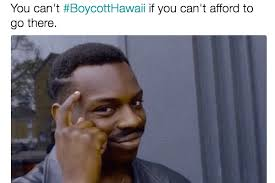 Hawaii Memes - trump supporters boycotthawaii plan quickly turns against them