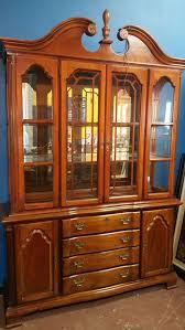 lexington furniture china cabinet lexington solid wood lighted china cabinet hutch furniture in