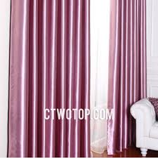 shabby chic trendy stylish simple faux silk blackout curtains