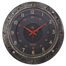 control room wall clock industrial home