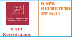 kapl recruitment 2017 notification 30 various vacancies