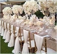 wedding chairs wholesale wholesale simple but white chiffon wedding chair cover and