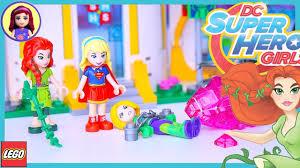 lego dc superhero girls super hero high build part 2 review