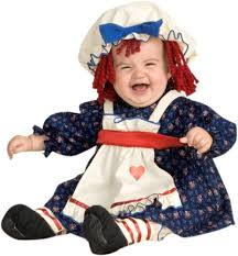 Rag Doll Halloween Costume Usa Broadway Baby Halloween Costume