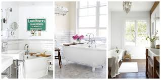 Black And White Bathroom Decorating Ideas 30 White Bathroom Ideas Decorating With White For Bathrooms