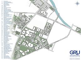 Florida State University Map by Health Sciences Campus Building Codes