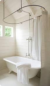 modern diy clawfoot tub shower curtain clawfoot tub shower
