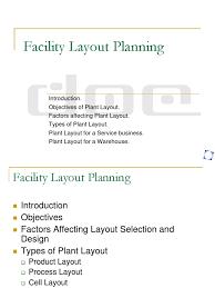warehouse layout factors plant layout labour economics employment