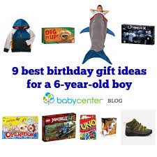9 best birthday gift ideas for a 6 year boy babycenter
