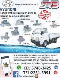 reparación de bombas de agua automotrices isuzu thermo king q