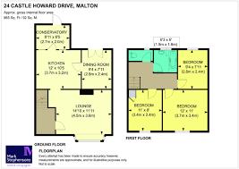 Castle Howard Floor Plan by 3 Bedroom Semi Detached House For Sale In Castle Howard Drive