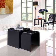 Black Glass Tables Black Glass Tables Modern Contemporary Black Glass Tables By