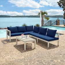 Sears Patio Furniture Replacement Cushions by Grand Resort Seabrook Island 3pc Sectional