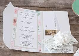 make your own wedding invitations dl pocket invitation in pearlised white imagine diy