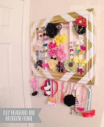 bow holder diy headband and hairbow holder frame