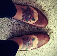 best 25 rose foot tattoos ideas on pinterest sister foot