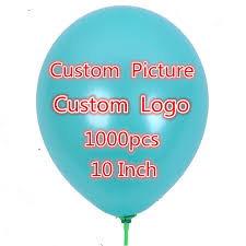 personalized balloons 1000 pcs 10 inch personalized custom balloons logo print