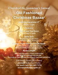 old fashioned christmas bazaar