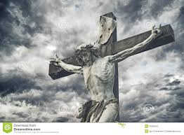 jesus christ cross easter resurrection concept stock photo