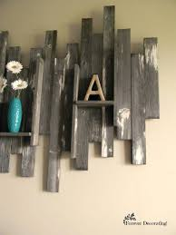 wood decorations for home wall decor winsome barn wood shelves wall decor for home design