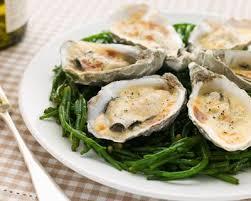 cuisiner les huitres recette huîtres chaudes de tradition facile rapide