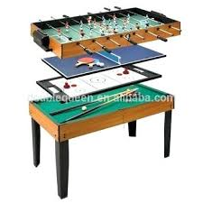 ping pong table kmart multiple game table 4 in 1 multi game table for soccer table