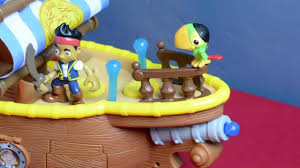 jake neverland pirates toy bucky music ship parrot skully