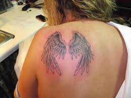 tattoo angel wings on neck 63 outstanding wings shoulder tattoos