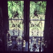 Bird Lace Curtains Witch Witchcraft Magick Haunted Witchy Home Pinterest