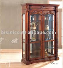 wood and glass cabinet wood glass cabinet purplebirdblog com