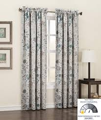 63 Inch Curtains Windows Blinds Eclipse Samara Curtains Curtains Target 95