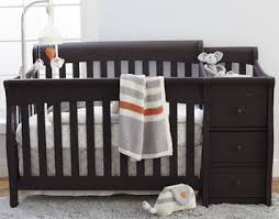Espresso Baby Crib by Convertible Cribs Babies