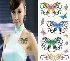 butterfly temporary designs pictures fashion