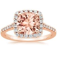 gold and morganite ring gold morganite rings brilliant earth