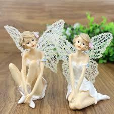 artificial figurines resin crafts miniature fairies
