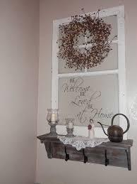 shelf decorations repurposed old window to shelf decoration hometalk