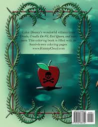 disney villains coloring book shondra hilliard 9781540666154