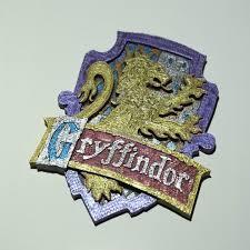 3d printable gryffindor house badge harry potter andrew forster